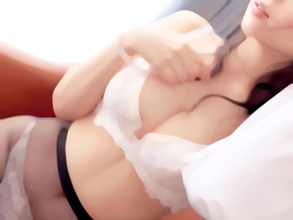 出会い系で出会った男性と熱いセックス